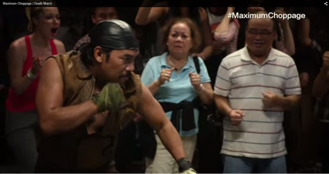 Felino Dolloso as KAI LE in Maximum Choppage TV series